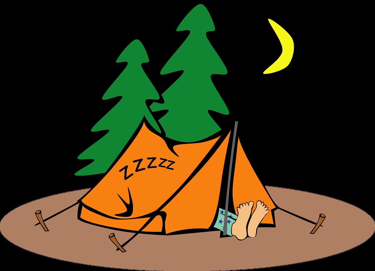 camping, humor, tent
